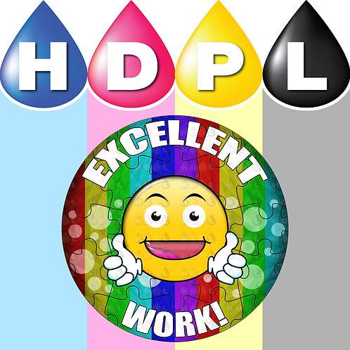 192 Excellent Work Stickers (F)