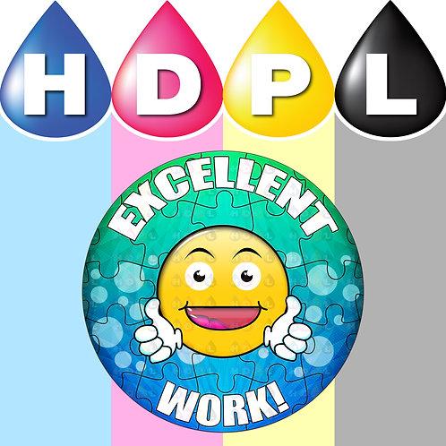 192 Excellent Work Stickers (B)
