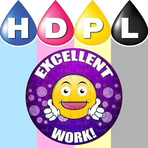 192 Excellent Work Stickers (G)