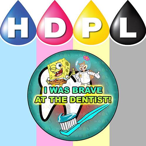 Spongebob Dentist Stickers