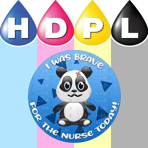 192 Brave For Nurse Stickers (B)