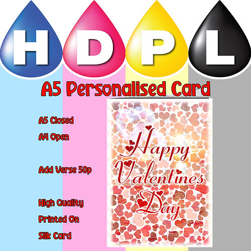 Happy Valentines Day Card (B)