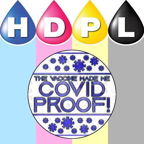 192 COVID Vaccination Stickers (C)