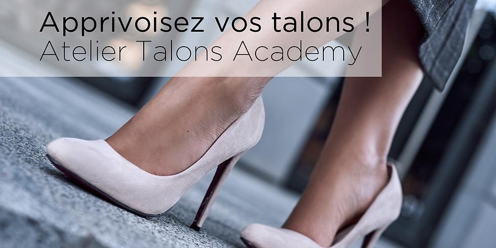 Atelier TALONS ACADEMY Jeudi 16 janvier 2020