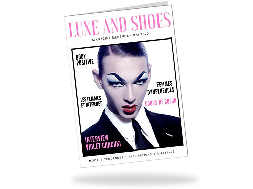 MAGAZINE LUXE AND SHOES 28 PAGES - 3 N°