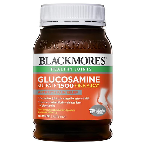 Glucosamine Sulfate 1500mg One-A-Day 180 Tablets