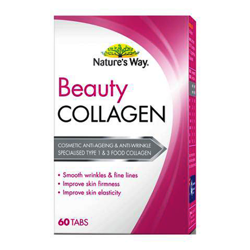 Natures Way Beauty Collagen Booster 60 Tablets