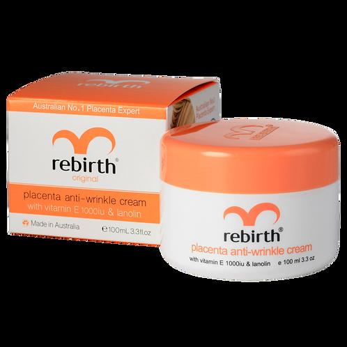 Rebirth Placenta Anti-wrinkle Cream With Vitamin E