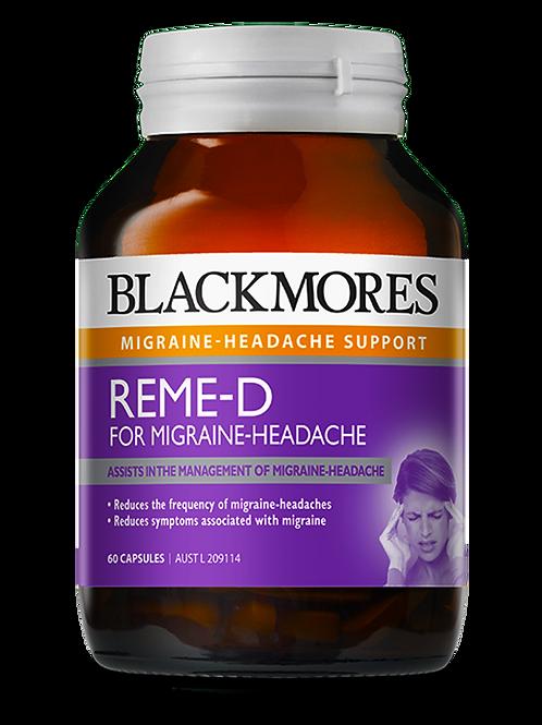 Blackmores REME-D Migraine Headache 60 Capsules