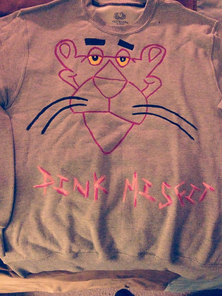 Pink Panther Outline Sweatshirt