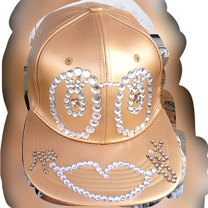 Gold Ms.Fit Snapback