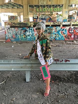 Pink #MM Misfit Bag