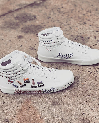 Sophisticated Misfit Sneakers