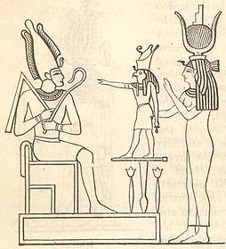 Osiris, Horus, & Isis