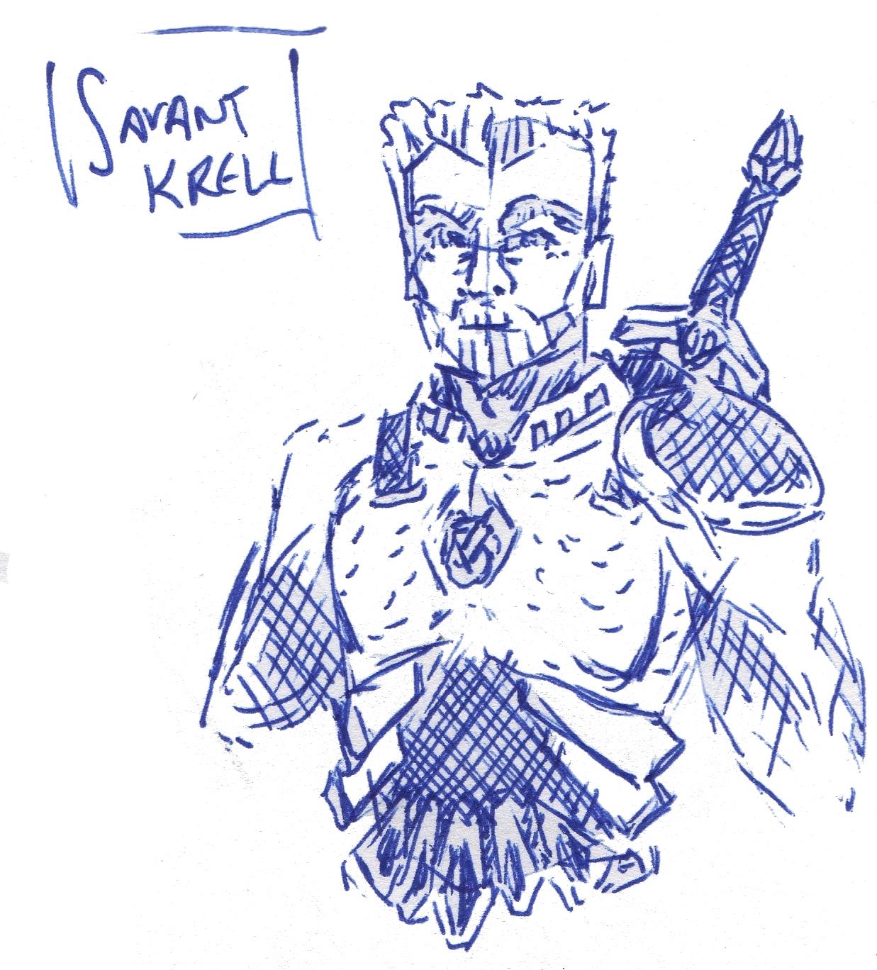 savant krell sketch