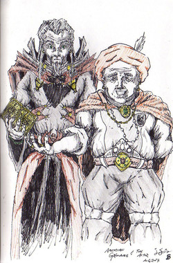Arcadian Grimoire and the Actor