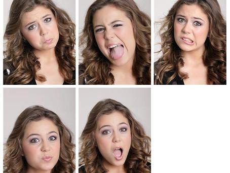 Sessão fotográfica para Book 2010 Face Models