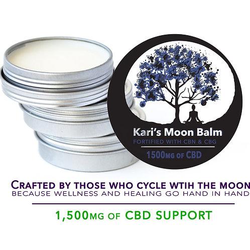 2.5 ounce / 1500mg CBD Balm   Kari's Moon Balm