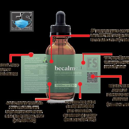 THC-FREE - 1,000mg Endocannabinoid Booster Serum by FS-Origins | 30ml