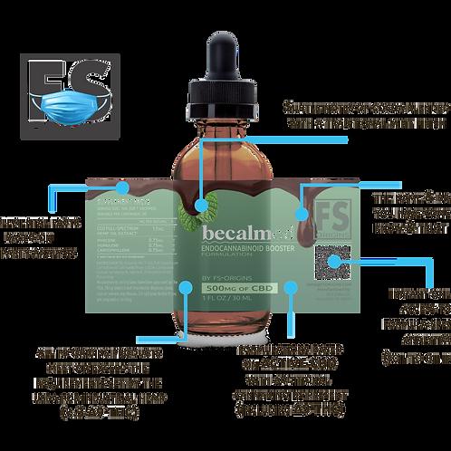 Chocolate Mint Becalmed 500mg Endocannabinoid Booster Serum | 30ml