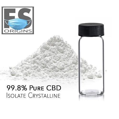 99.8% Pure CBD Isolate | 5 grams