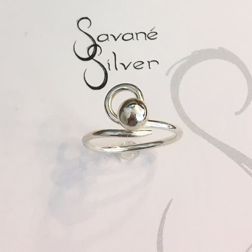 Sweeties Silver Eye Ring