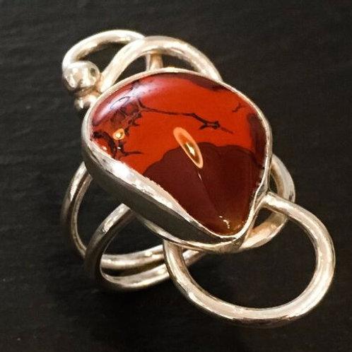Cherry Filigree Ring