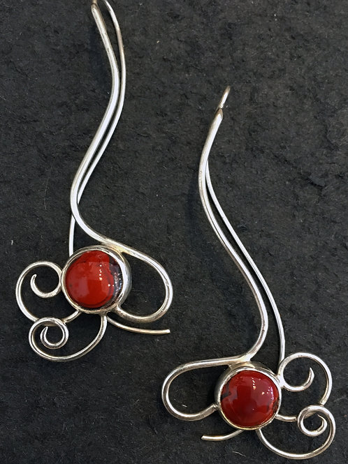 Scarlet Duster Earrings