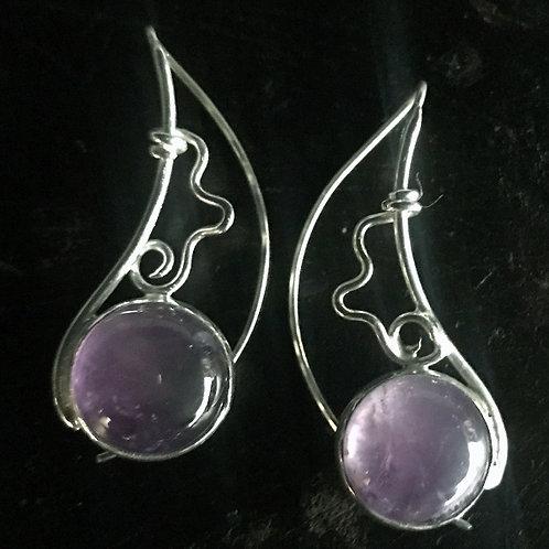 Lavanda Luna Earrings