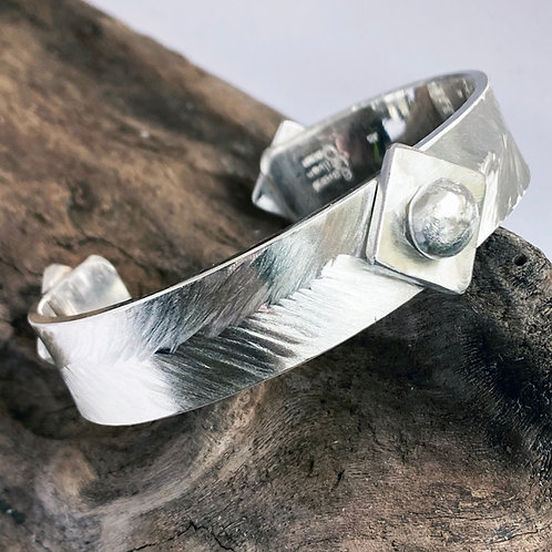 Feather Shield Bracelet
