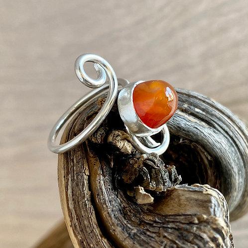 Tangerine ring