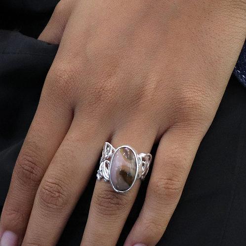Pink Pith Ring