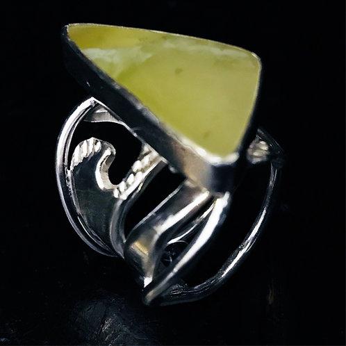 Billowing Band Ring
