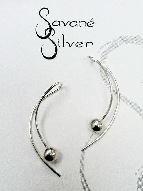 Sweeties Silver Drop Earrings