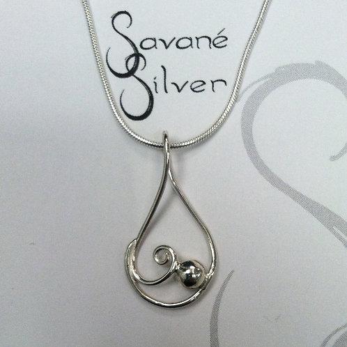 Sweeties Silver Cradle Pendant