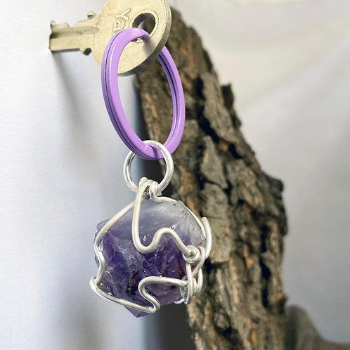 Purple Point key fob