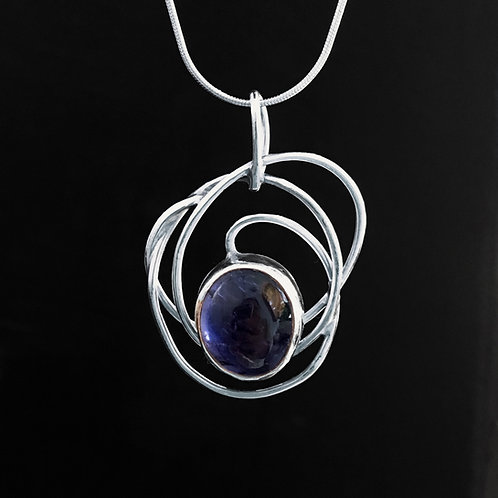 Cobalt Nebula Pendant