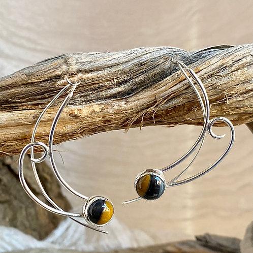 Dichotomy earrings