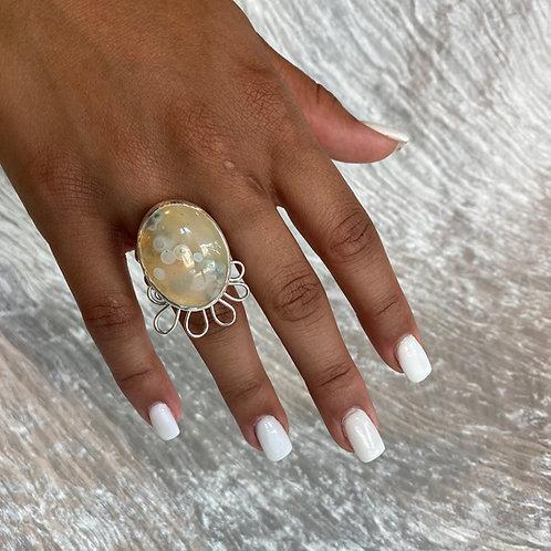 Bubbling ring