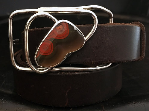 Botryoidal Blast Belt Buckle