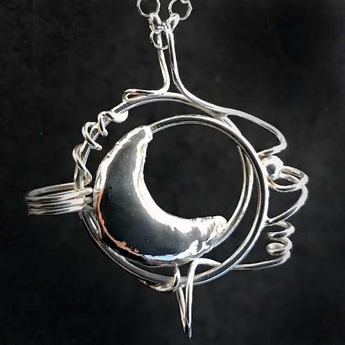 Phases and Changes Pendant