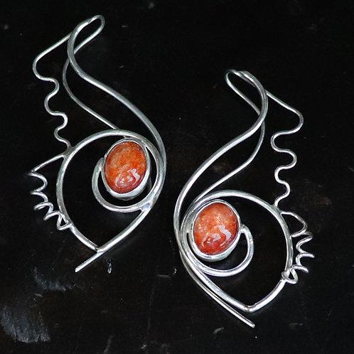 Gamma Ray Earrings