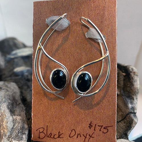 Onyx Aurora Earrings