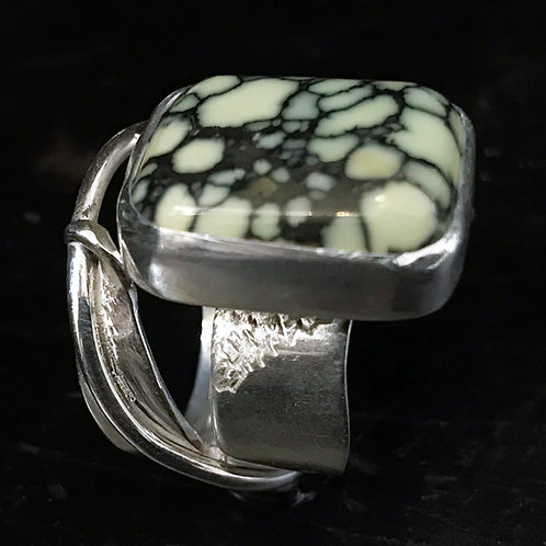 Crackle Moss Ring