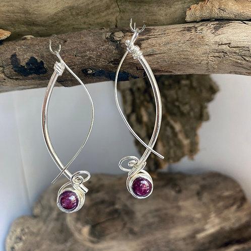 Fucia Light earrings