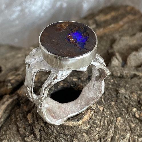Deep Blue Sea ring