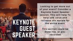 Keynote Guest Speaker