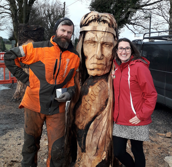 Congrats to Brittas Tidy Towns & SDCC on Their Sculpture Collaborations