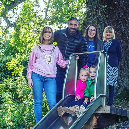 Did you know there's a playspace in Lucan Demesne now?