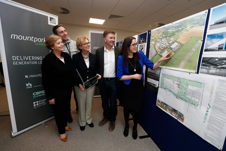 Minister Regina Doherty Tours Mountpark Logistics €80m Site